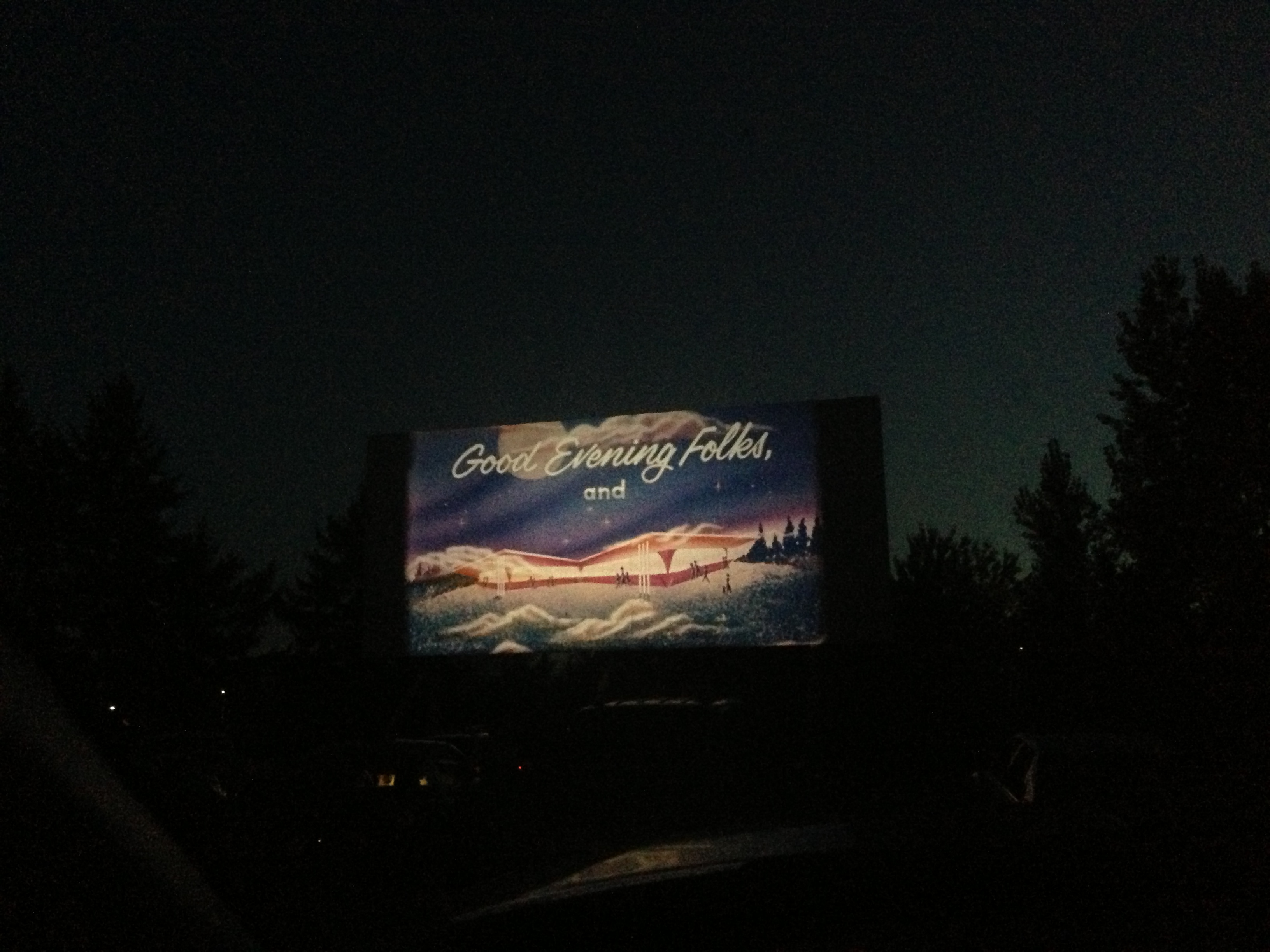99W Drive-In screen