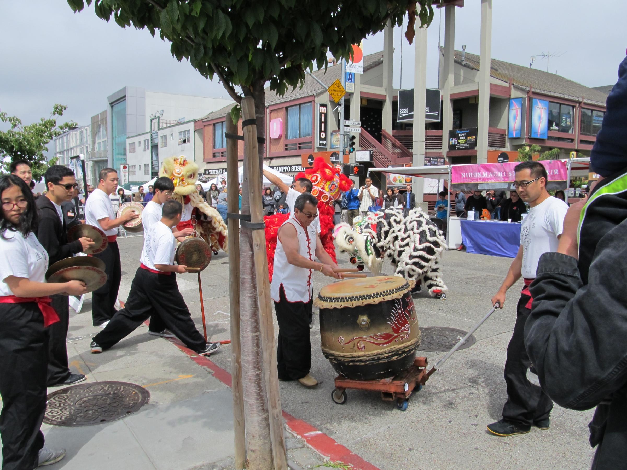 Asian street fair
