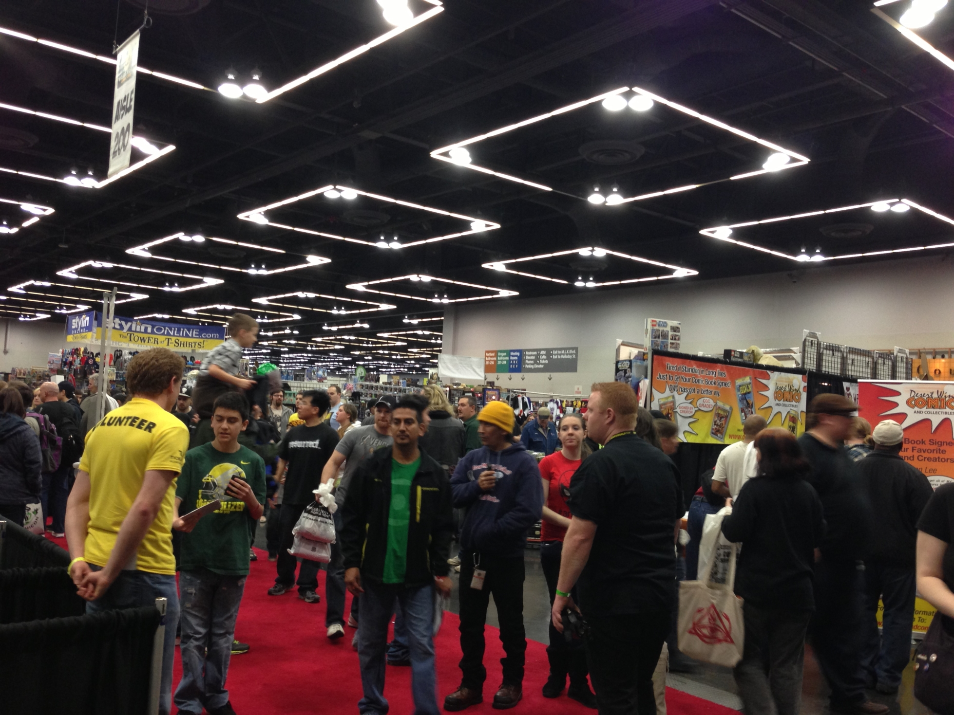 Portland Comic Con 2013 crowd
