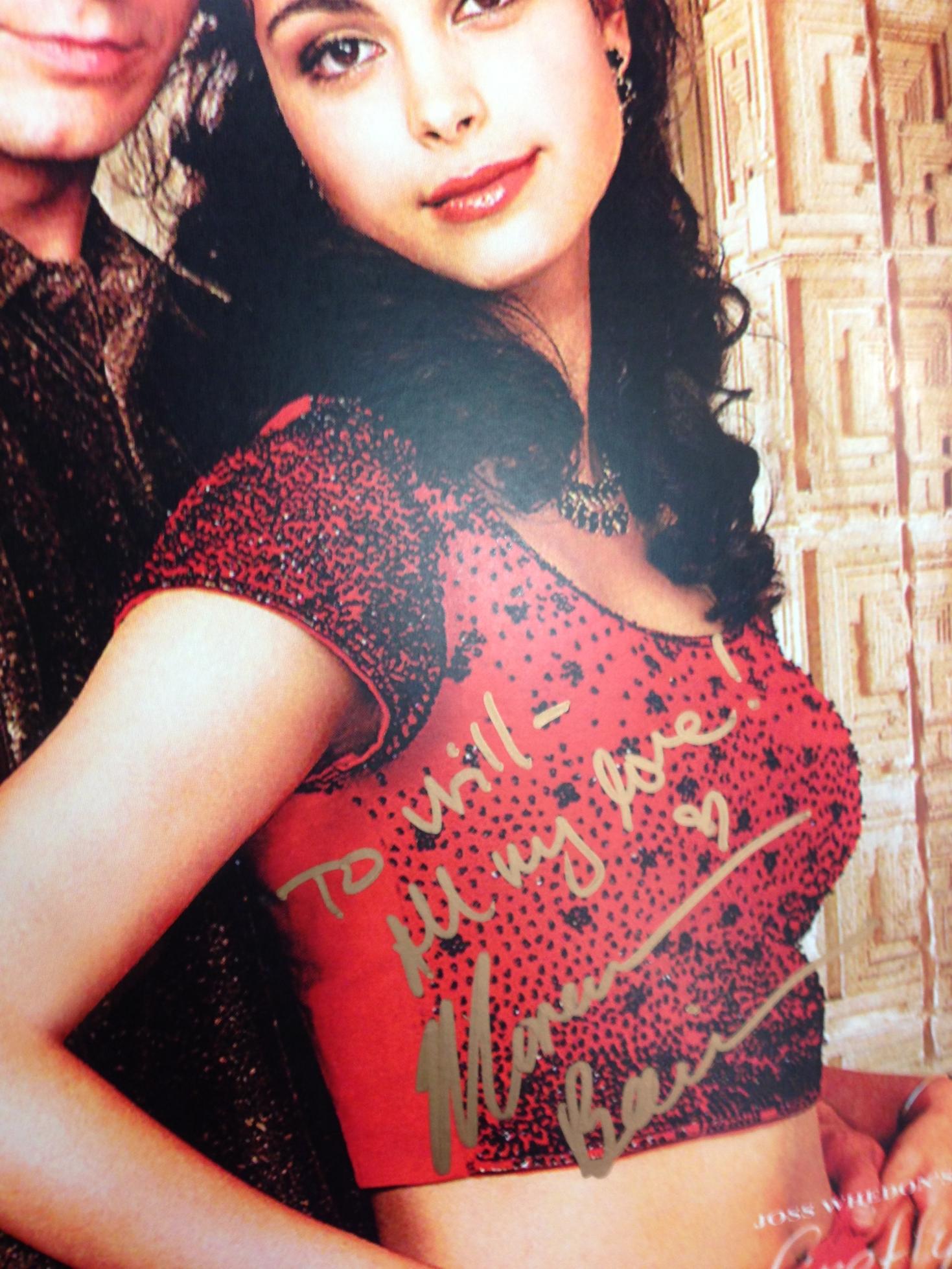 Portland Comic Con 2013 - Morena Baccarin's autograph