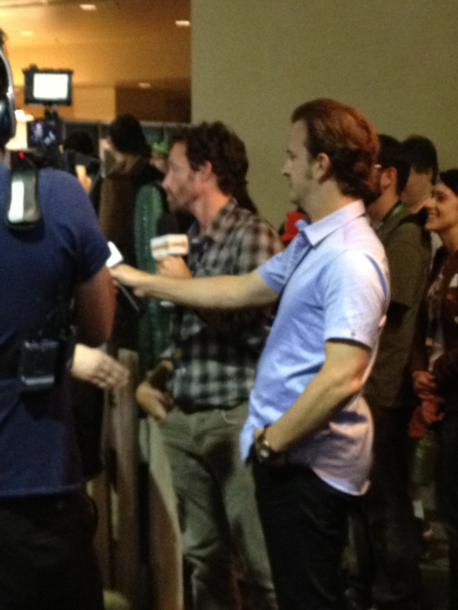 Rob Benedict and Richard Speight, Jr