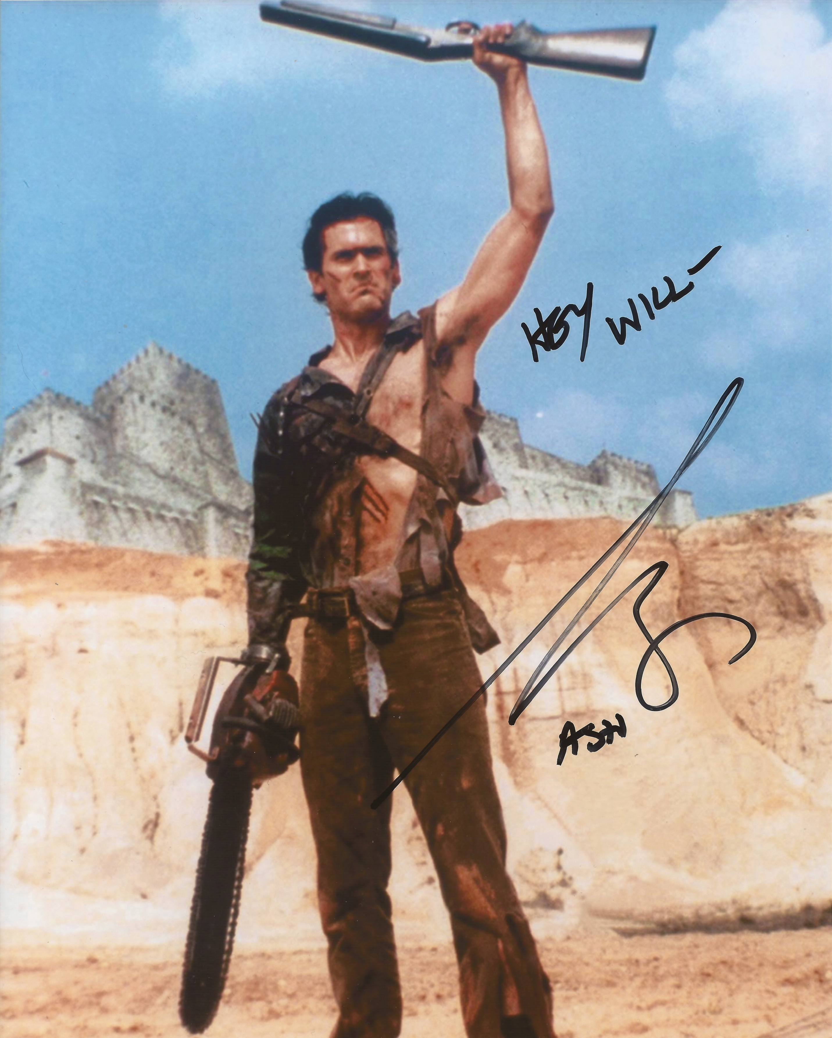 Bruce Campbell's autograph