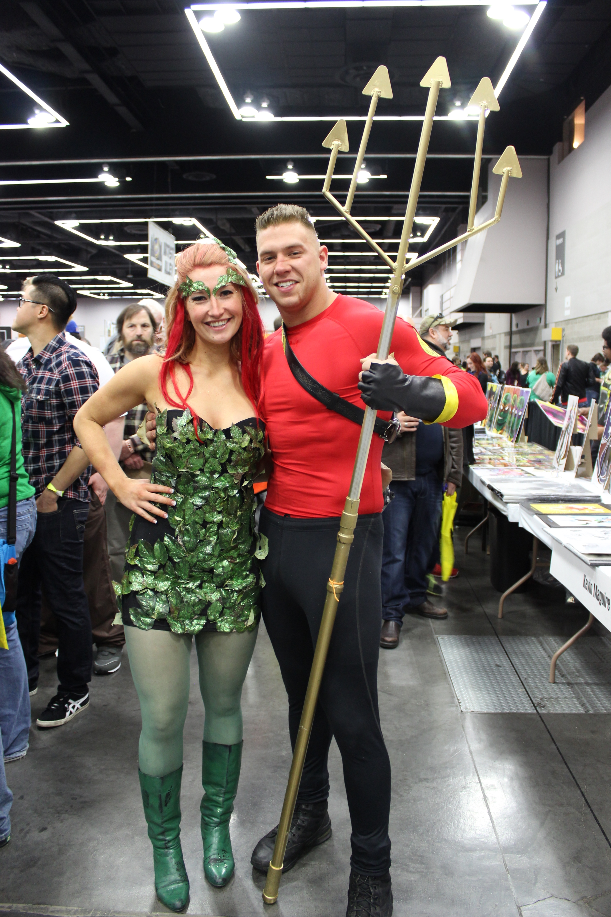 cosplayers at Portland Comic Con 2014