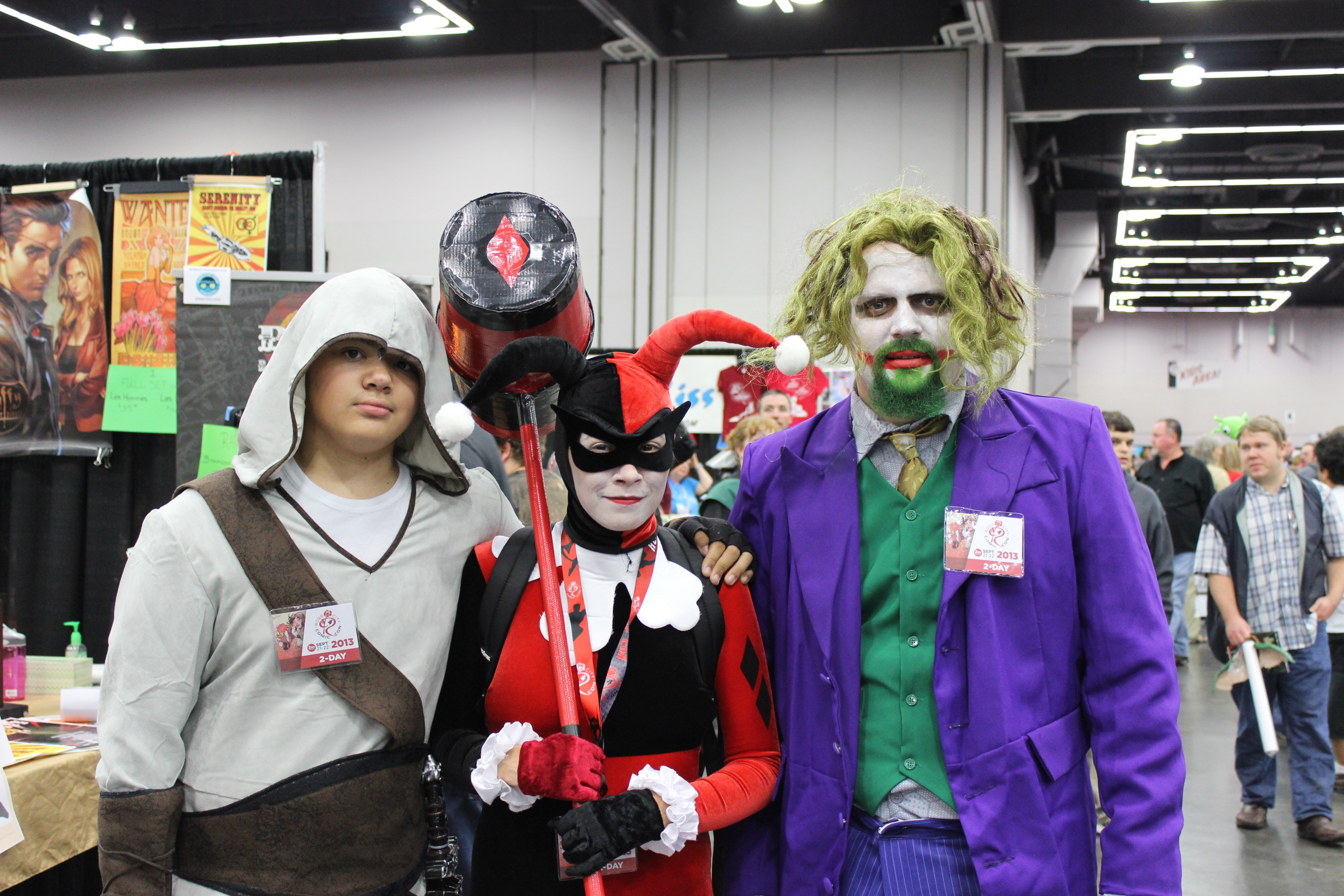 cosplayers at Rose City Comic Con 2013