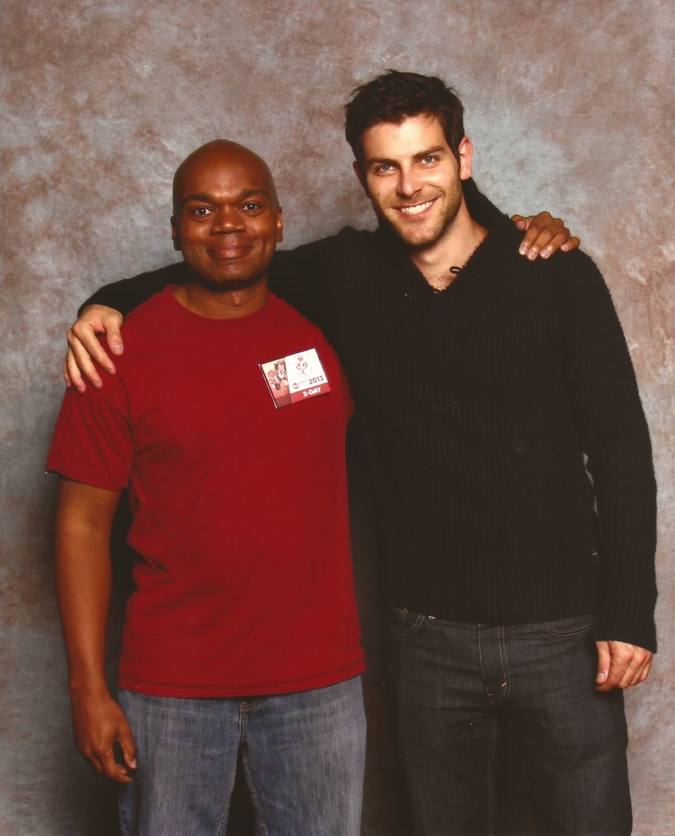 me and David Giuntoli